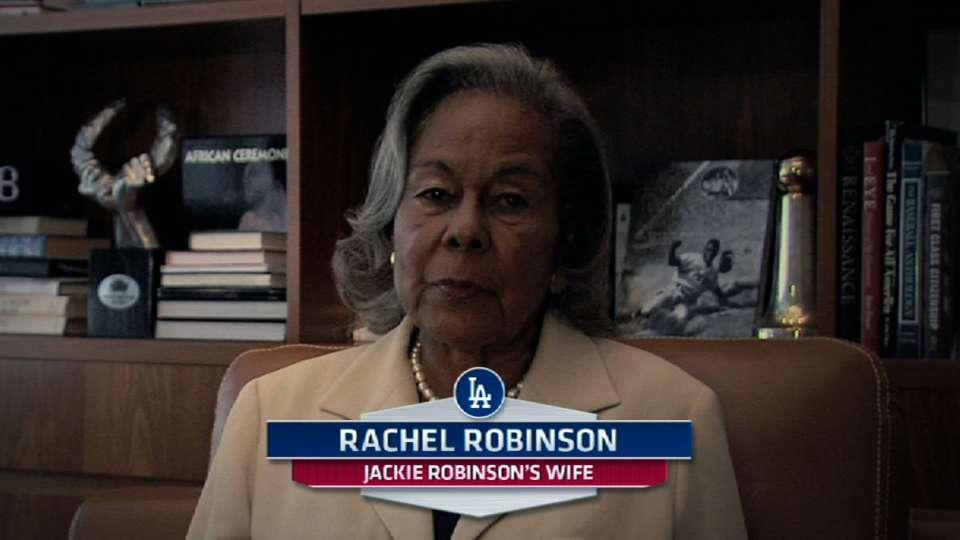 Rachel Robinson's message to Mo
