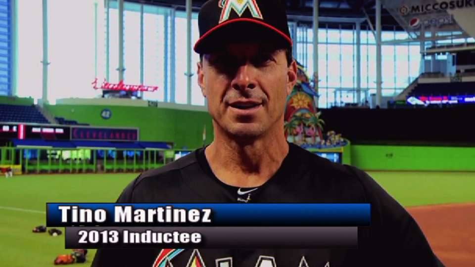 Martinez inducted into HOF