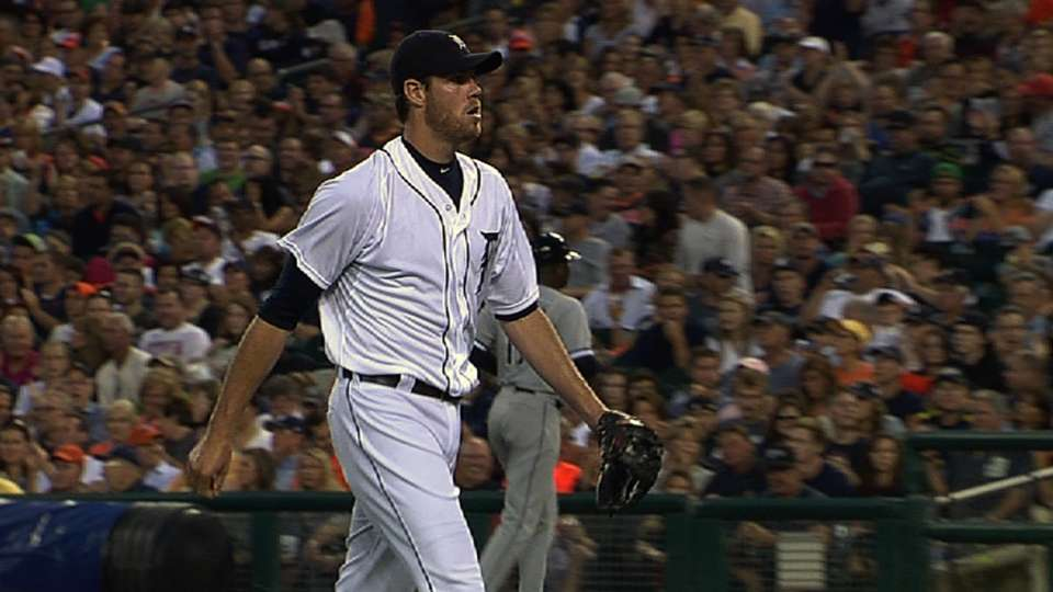 Fister's strong performance