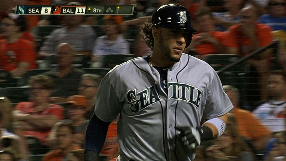 Mariners crank four homers