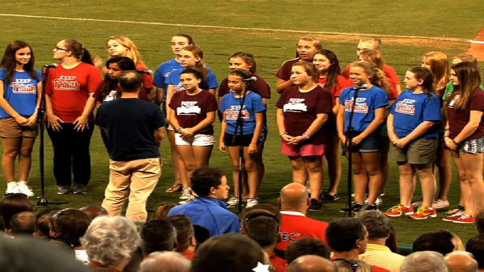 St. Luke's CYO Choir's anthem