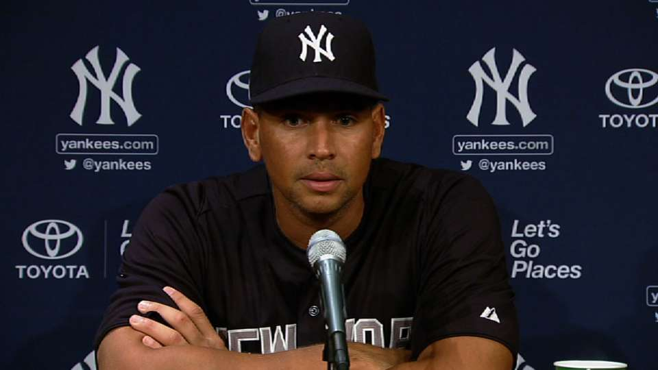 A-Rod on suspension, appeal