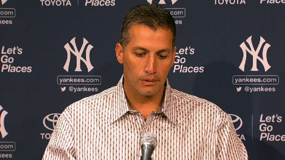 Andy Pettitte on rough outing