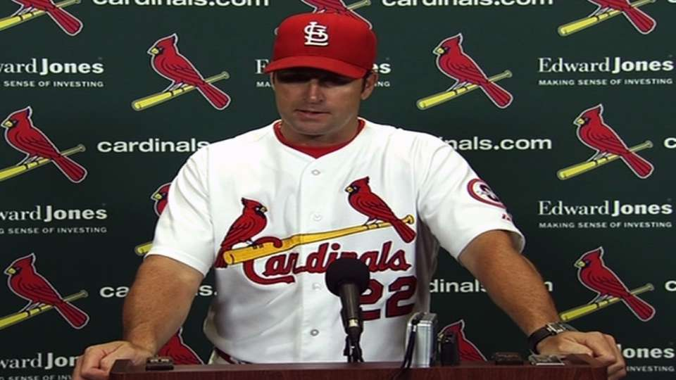 Matheny on Kelly's outing