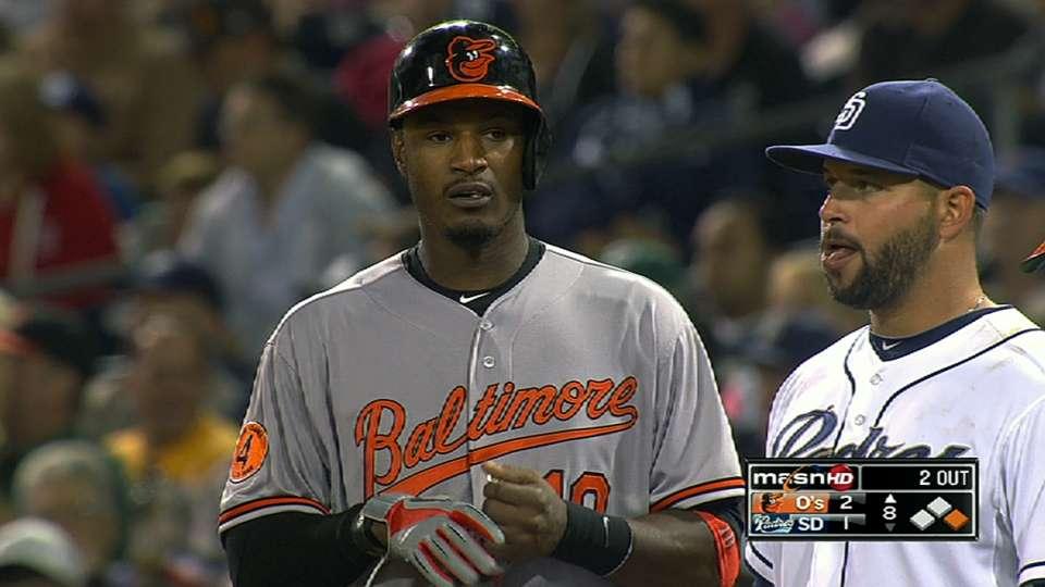 Jones' four-hit game