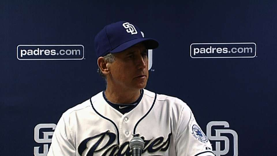 Black on Padres' offense