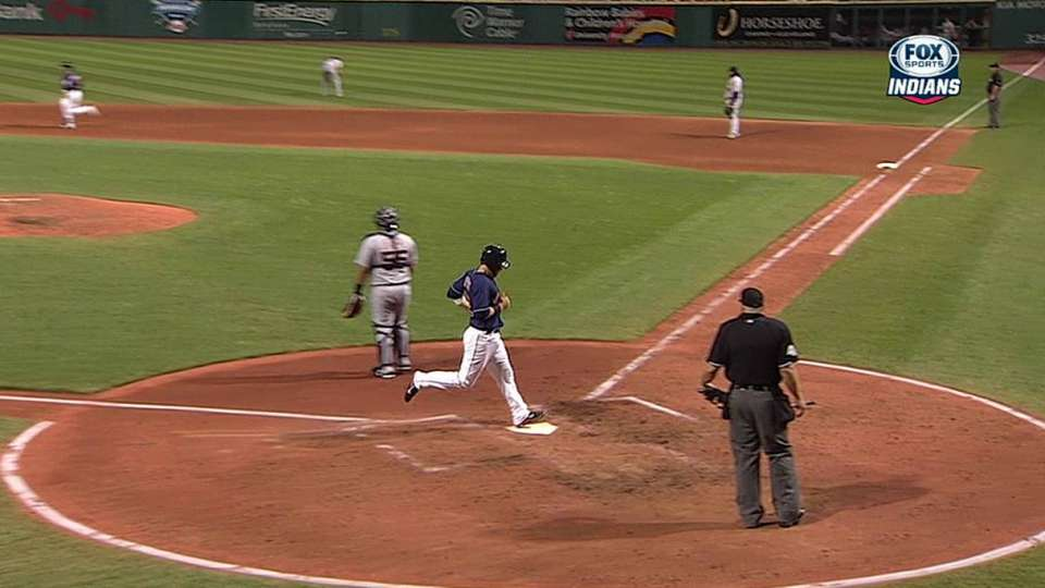 Asdrubal's RBI double