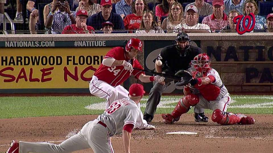 Harper's RBI forceout