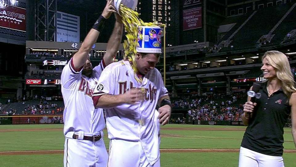 Goldschmidt gets doused