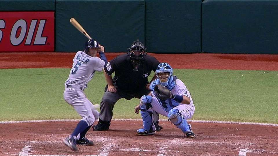 Miller's two-run triple