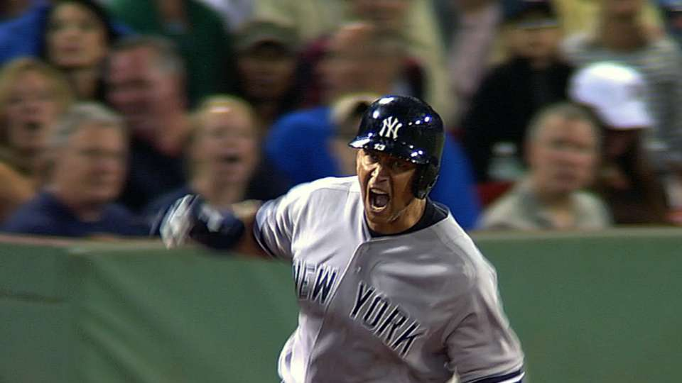 A-Rod on plunking, home run