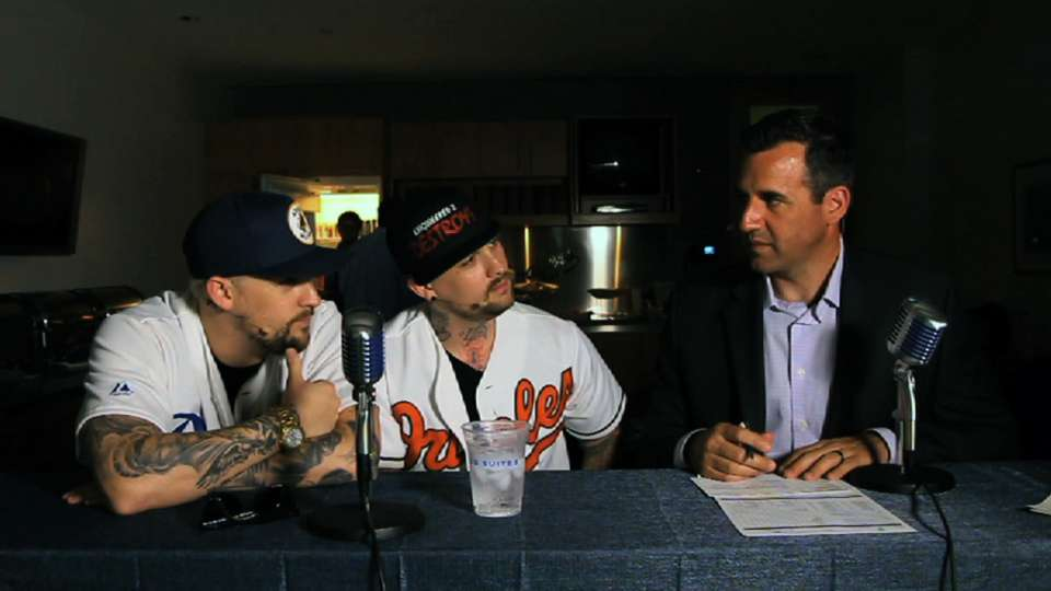 The Madden Brothers join EWC