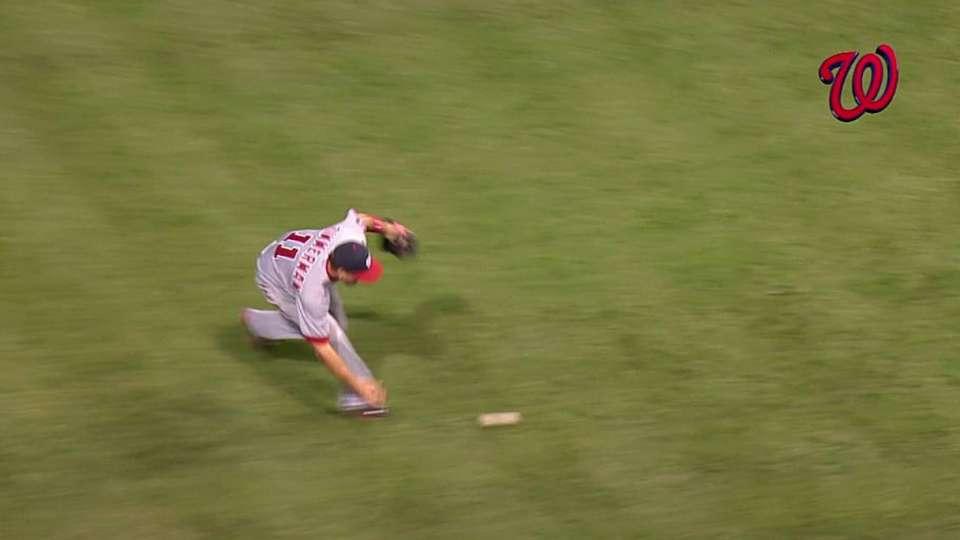 Zimmerman's difficult toss