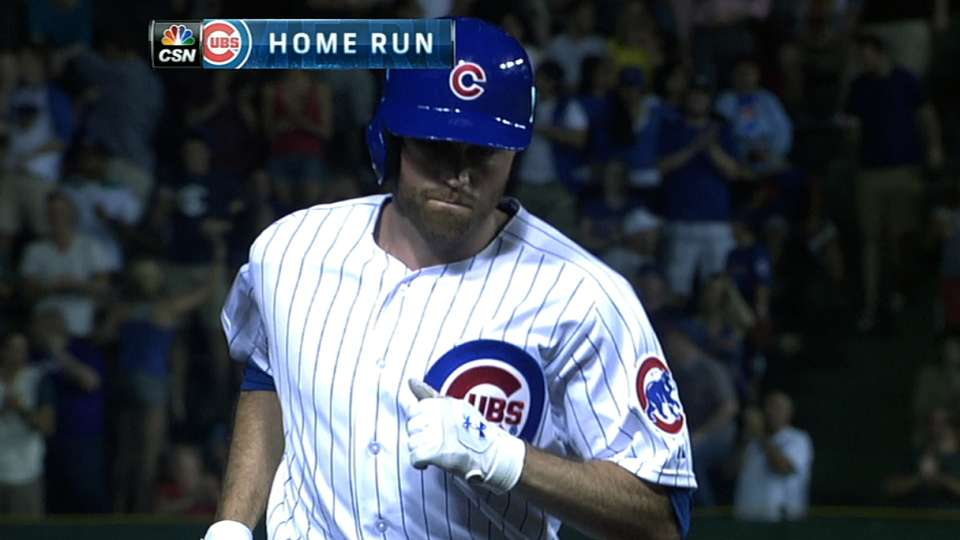 Cubs crush five homers vs. Nats