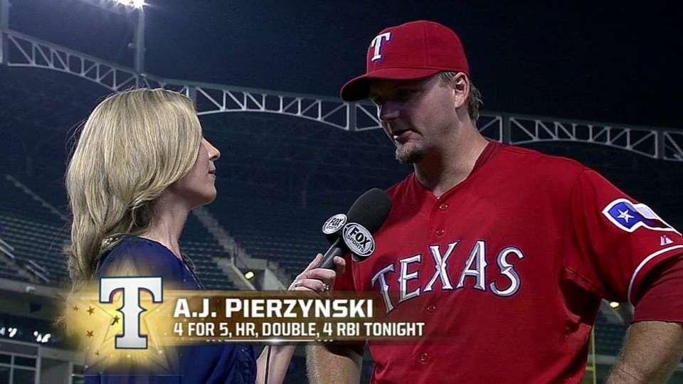 Pierzynski on his huge game
