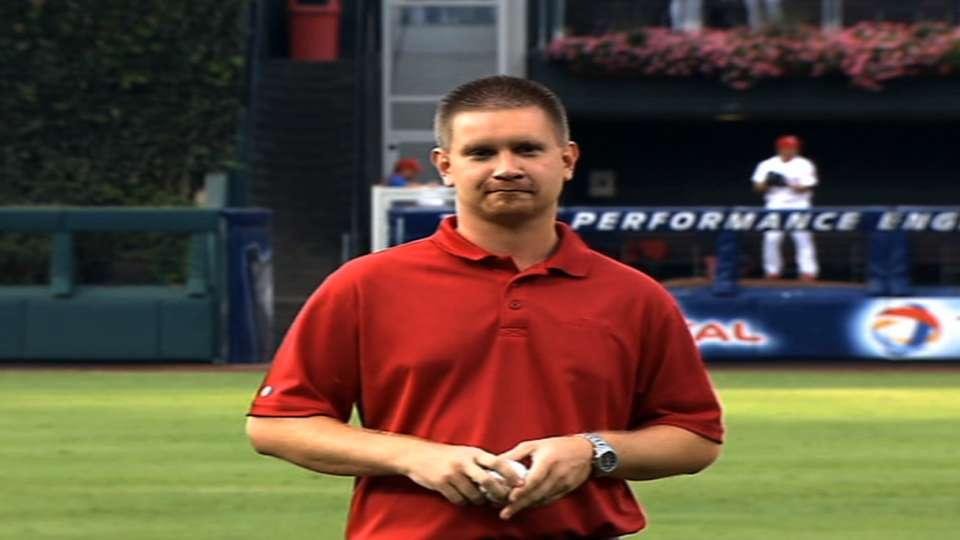 8/19/13: Phillies first pitch