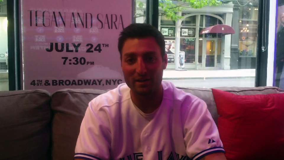Kevin Pillar visits the Fan Cave