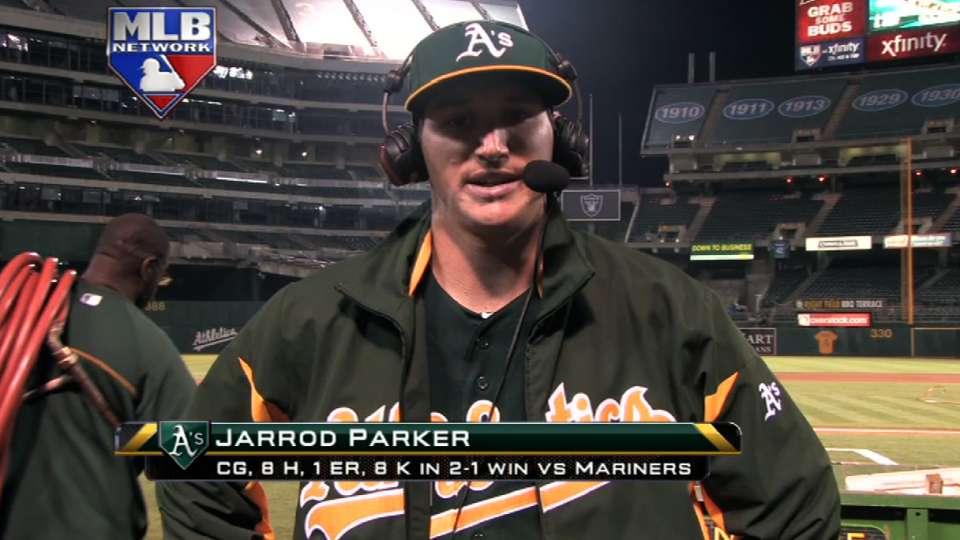 Jarrod Parker on MLB Tonight