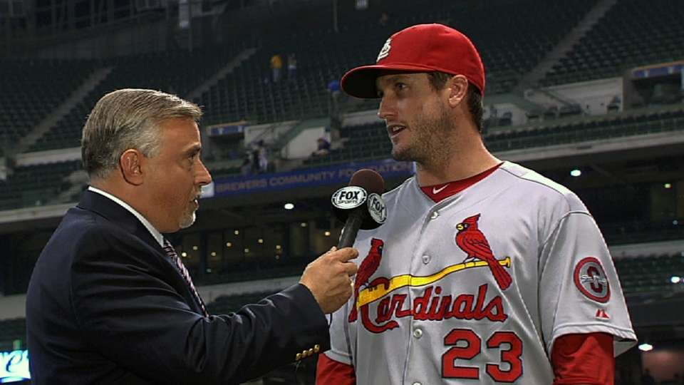 David Freese on Cardinals win