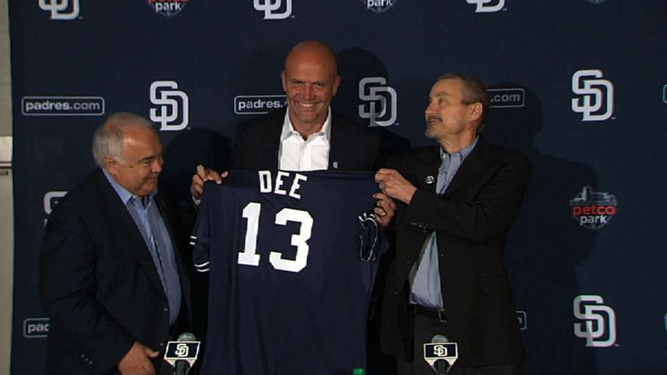 Dee joins Padres as president