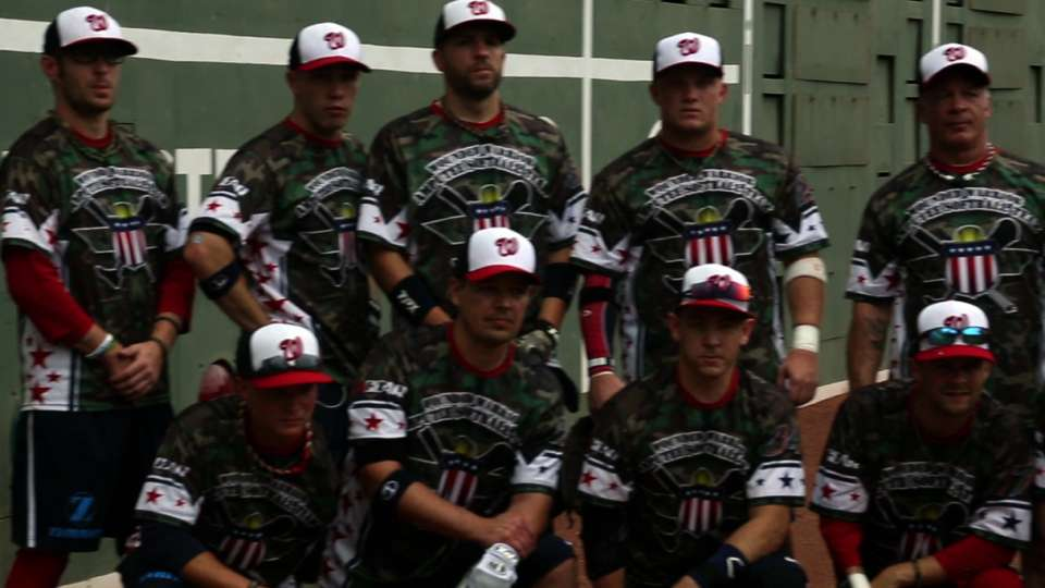 Wounded Warriors at Fenway