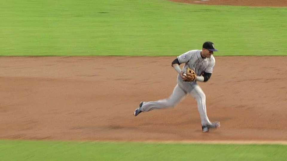 Tulo's great throw