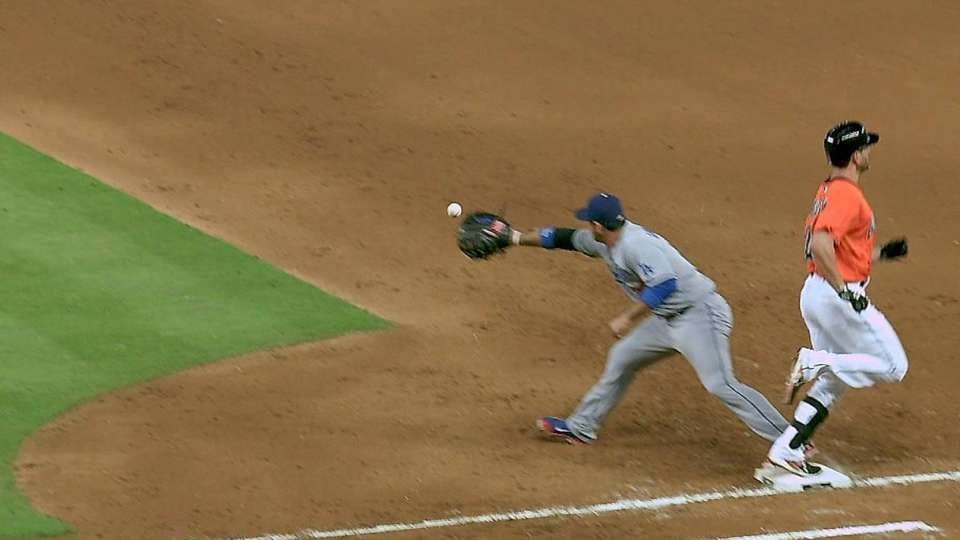 Ruggiano's RBI forceout