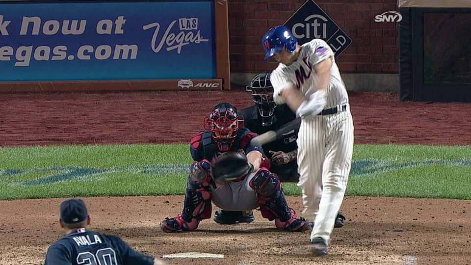 d'Arnaud's first career hit