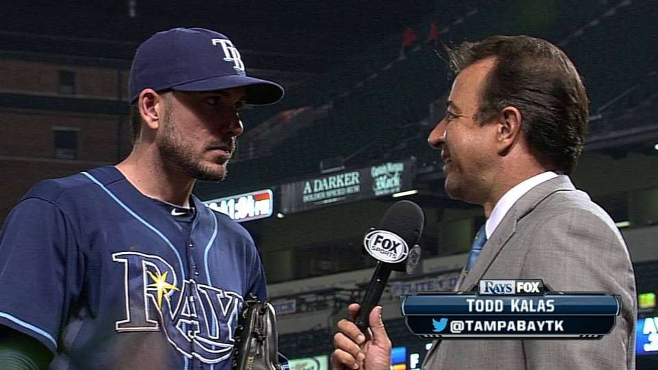Joyce discusses Rays' win