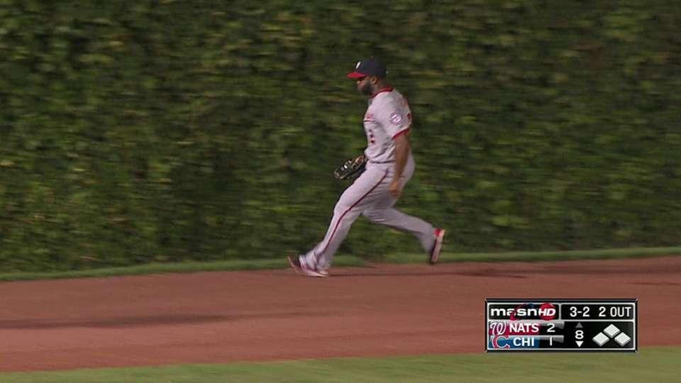 Span's running grab