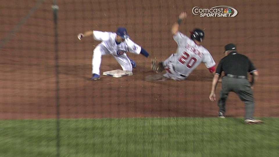Castillo throws out Desmond
