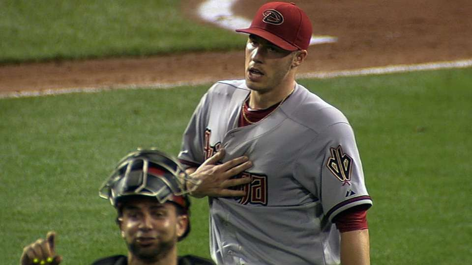 Corbin's dominant outing