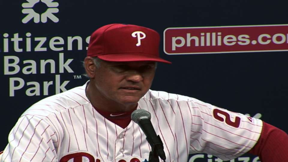 Sandberg on loss to Rox