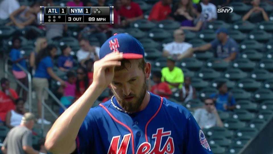 Niese escapes bases-loaded jam