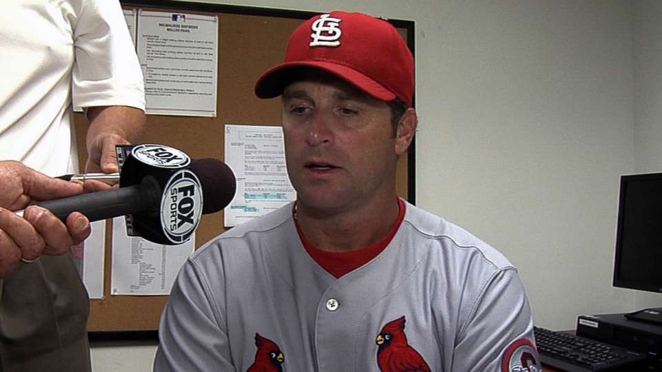 Matheny on winning tough game