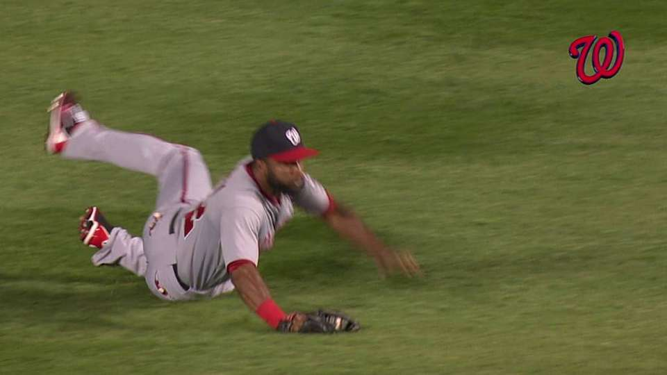 Span's terrific grab