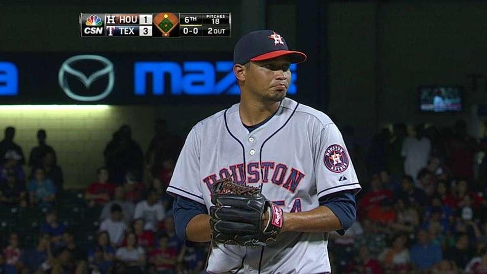 Martinez's first strikeout