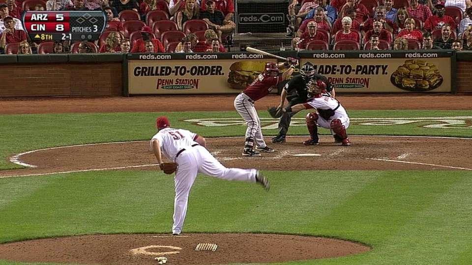Parra's reviewed home run