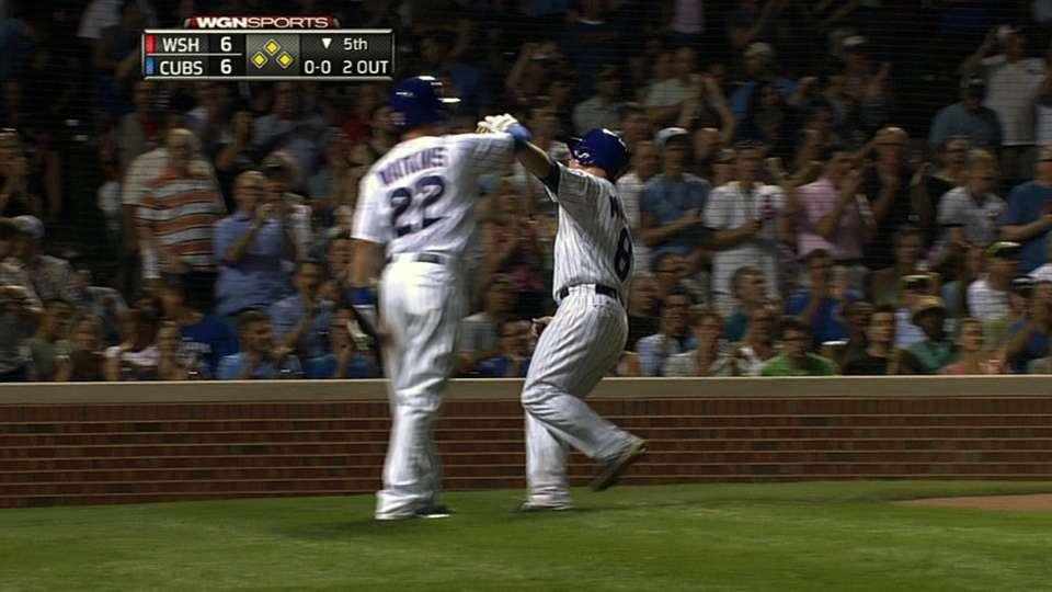 Cubs' big fifth inning