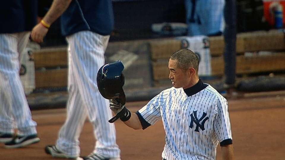 Ichiro on 4,000th hit