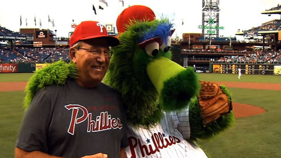 8/21/13: Phillies first pitch