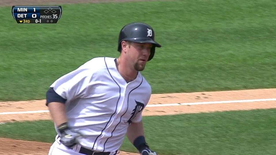 Holaday's first career homer