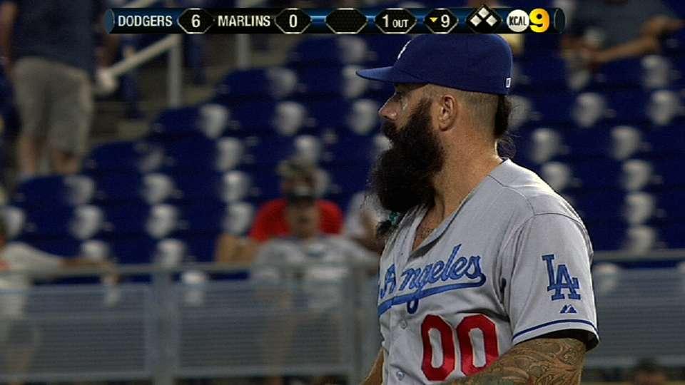 Wilson's Dodgers debut