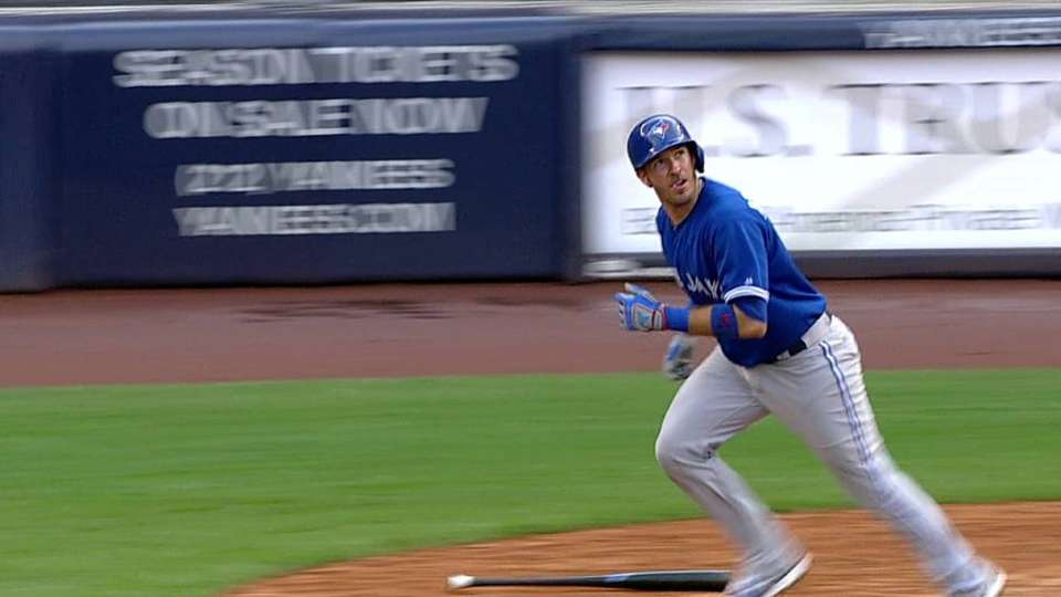 Arencibia's solo homer