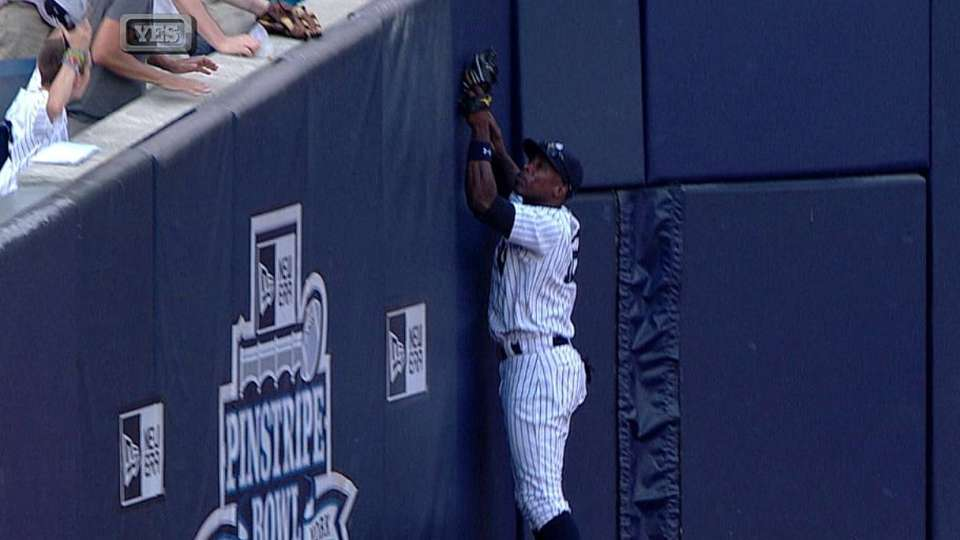 Soriano's leaping catch