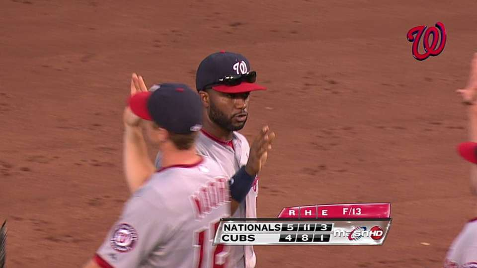 Nats turn two to end game
