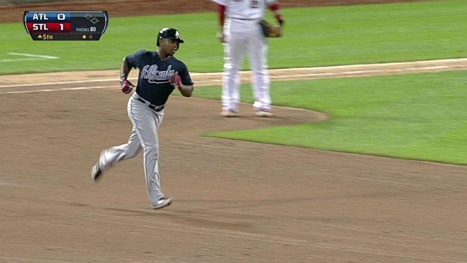 J. Upton's two-run homer