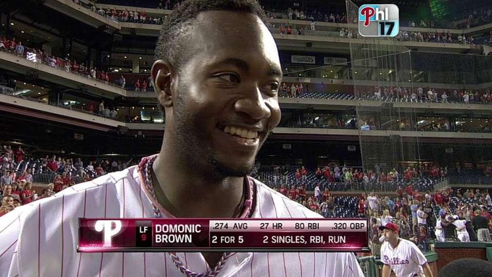 Brown talks walk-off win