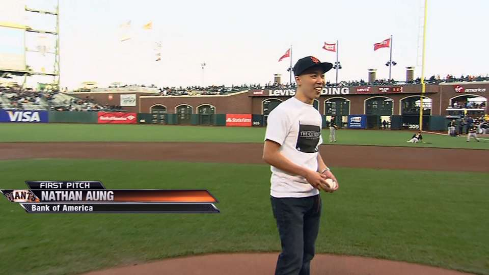 First Pitch: Nathan Aung