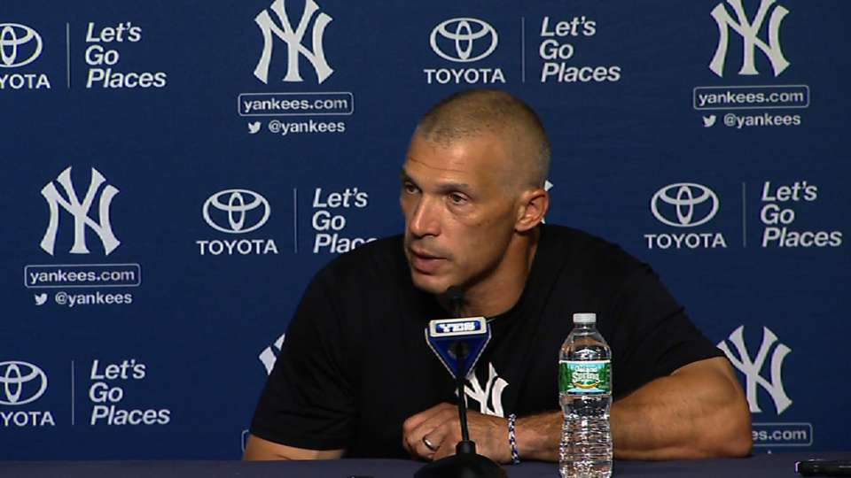 Girardi on Pettitte, defense
